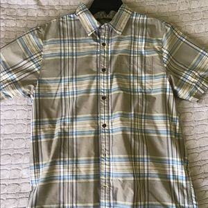 The North Face Mens Short sleeve Button down